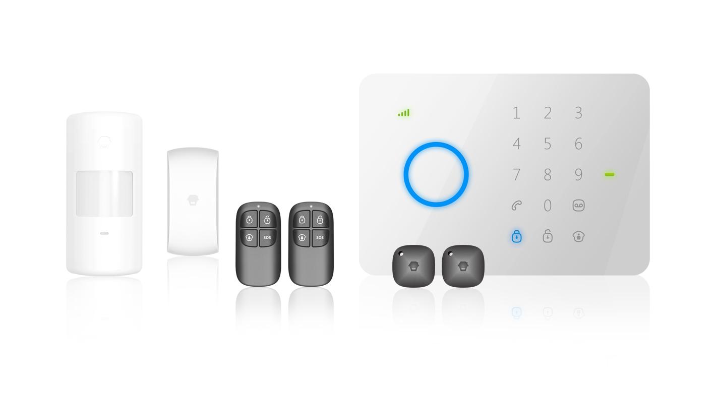 Antifurto allarme casa kit combinatore gsm wireless pir - Allarme casa wireless ...
