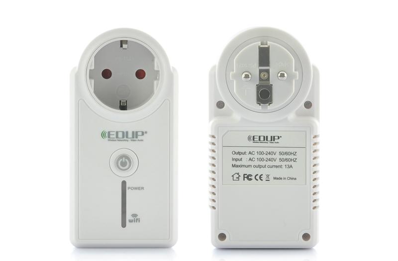 PRESA TELECOMANDATA Wi-Fi Telecomando REMOTE iOS ANDROID WIFI PLUG SOCKET EDUP