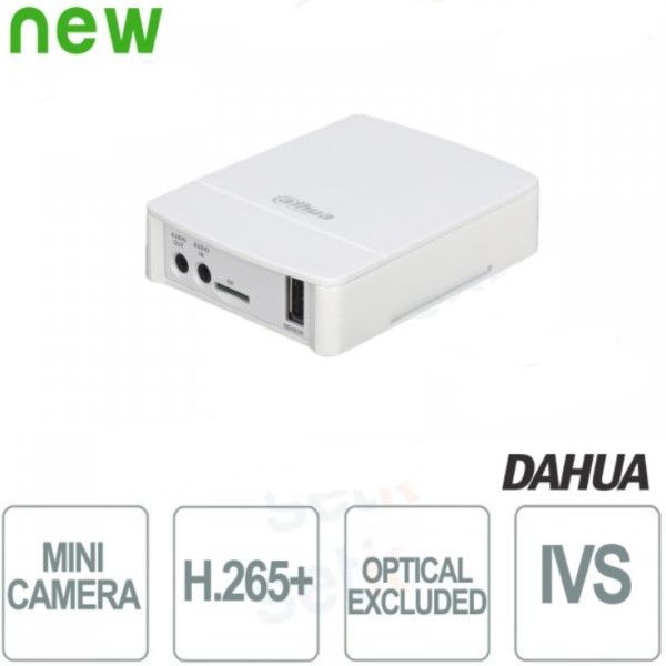 MINI TELECAMERA IP ONVIF POE DAHUA 2MP VIDEO ANALISI