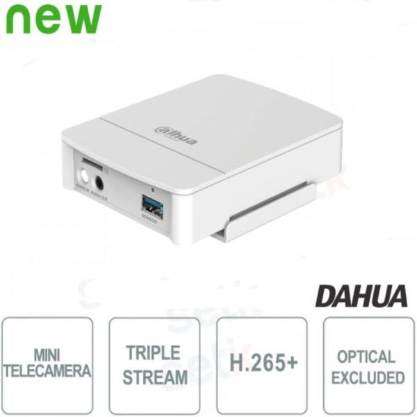 MINI TELECAMERA IP ONVIF DAHUA 4MP WDR ANALISI VIDEO