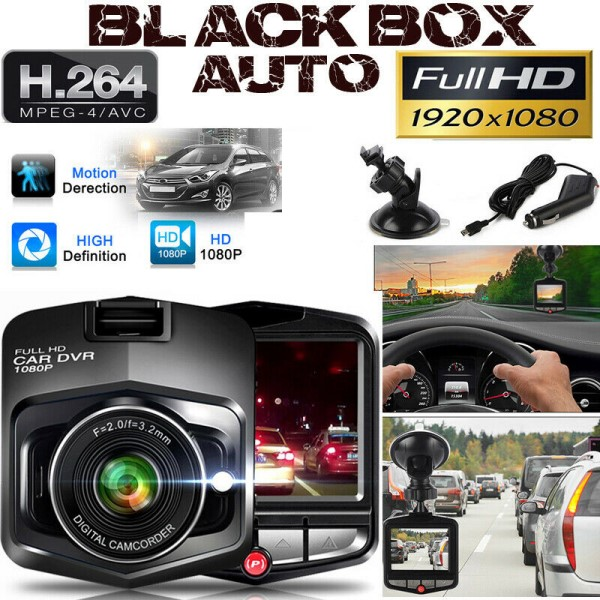 MINI TELECAMERA PER AUTO FULL HD 1080P DVR CAR VIDEO CAMERA VISIONE NOTTURNA