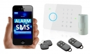 KIT ALLARME ANTIFURTO DEFENDER G5 GSM WIRELESS CON APP IOS E ANDROID