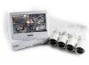 Kit videosorveglianza SMART WiFi 4 telecamere wireless e monitor 10 pollici