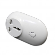 INTERRUTTORE ON/OFF WIRELESS 433MHz - BUDDY SOCKET - 1 CANALE TENSIONE ALTERNATA