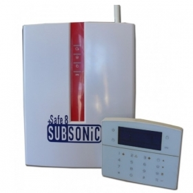 CENTRALINA ALLARME SUBSONICA GSM TCP IP GPRS  SAFE 8 SUBSONIC