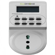 ECODHOME - DISPOSITIVI SALVA ENERGIA - PRESA TIMER DIGITALE SMART START