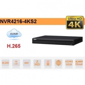 NVR IP 16 CANALI H.265 4K 8MP
