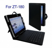 TASTIERA KEYBOARD USB E LEATHER CASE PER TABLET 10''