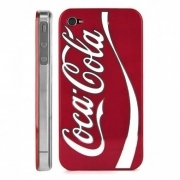 COVER COCA COLA PLASTICA RIGIDA PER IPHONE 4 E 4S