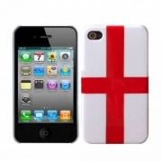 COVER CALCIO INGHILTERRA PLASTICA RIGIDA PER IPHONE 4 4S
