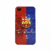COVER CALCIO BARCELLONA PLASTICA RIGIDA PER IPHONE 4 4S