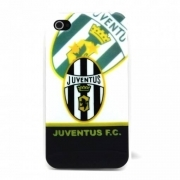 COVER CALCIO JUVENTUS PLASTICA RIGIDA PER IPHONE 4 4S