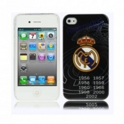 COVER REAL MADRID PLASTICA RIGIDA PER IPHONE 4 4S