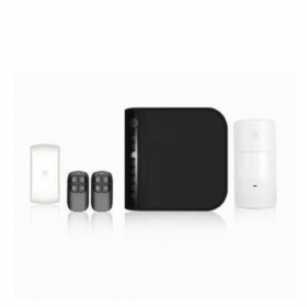 KIT ANTIFURTO WIRELESS CON COMBINATORE TELEFONICO PSTN A8